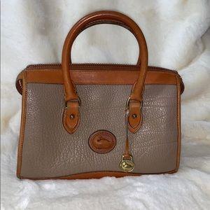 Vintage Dooney & Bourke Duck leather doctors bag